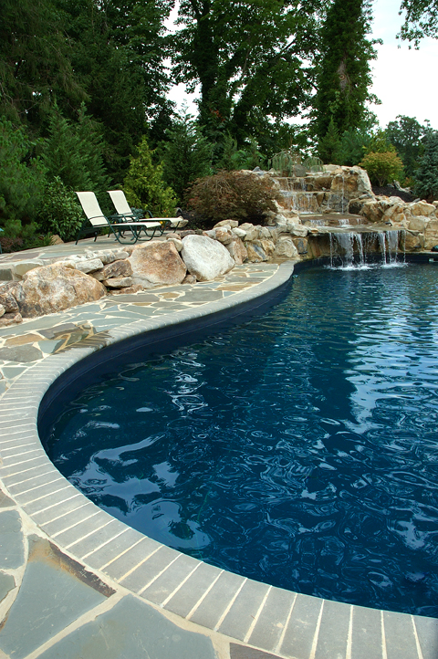 free form pools all about pools. Black Bedroom Furniture Sets. Home Design Ideas
