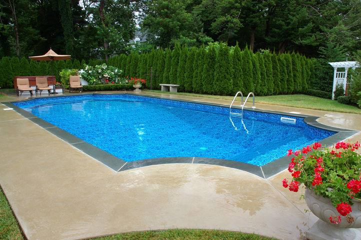 Geometric pools all about pools for Pool design virginia
